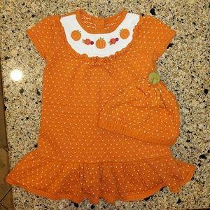 Gymboree Dresses - Gymboree toddler girl Fall knit dress w/hat, 3T
